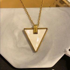 Jewelry - SALE 5/$15 Triangle stone T-shirt necklace